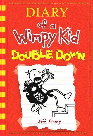 Cover of Diary of a Wimpy Kid Double Down