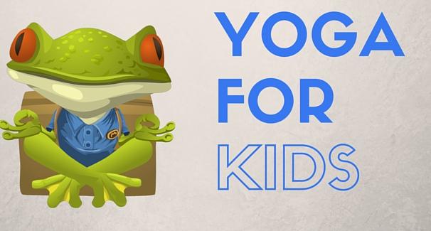 Kids Yoga Banner