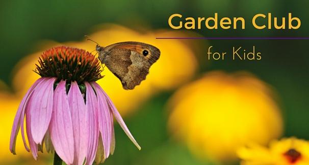 Garden Club for kids banner