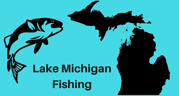Lake Michigan Fishing Banner