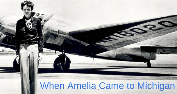 When Amelia Came to Michigan banner