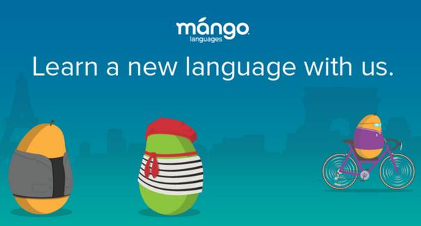 Mango Languages banner