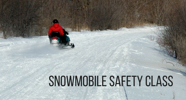 Be Safe on Your Snowmobile