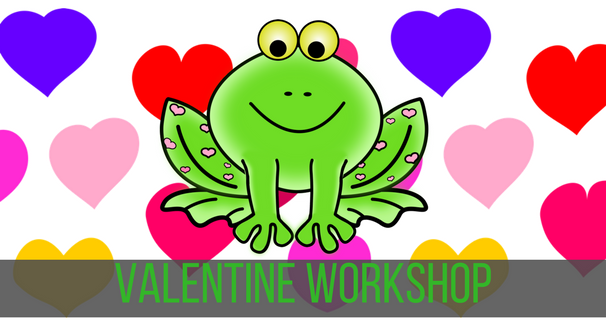 Valentine workshop Banner