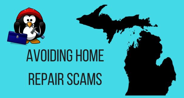 Avoiding Home Repair Scams banner