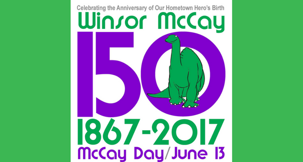 Winsor McCay Day 2017 banner