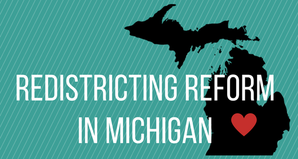 Redistricting Reformin Michigan banner