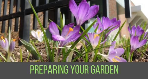 Preparing your garden banner