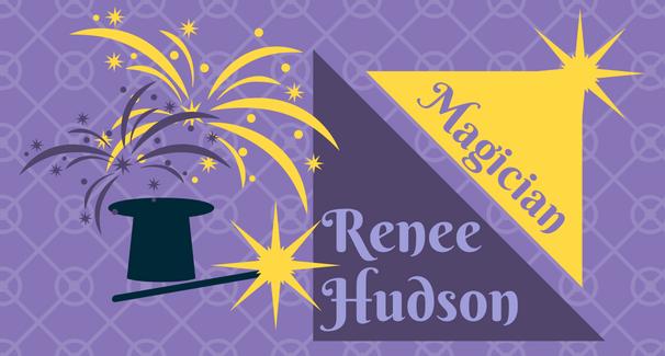 Magician Renee Hudson