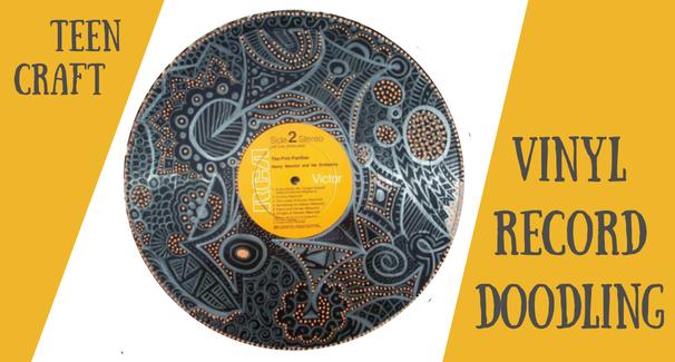 Vinyl Record Doodling