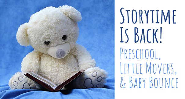 Storytime is Back