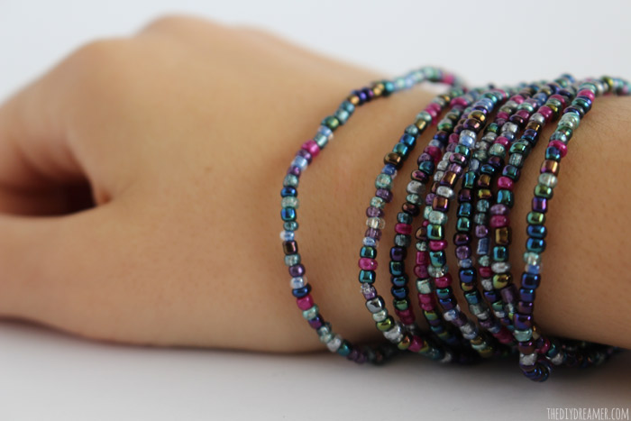 Make a Bead Wrap Bracelet