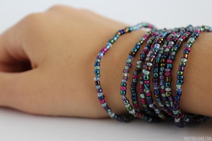 Make a Bead Wrap Bracelet