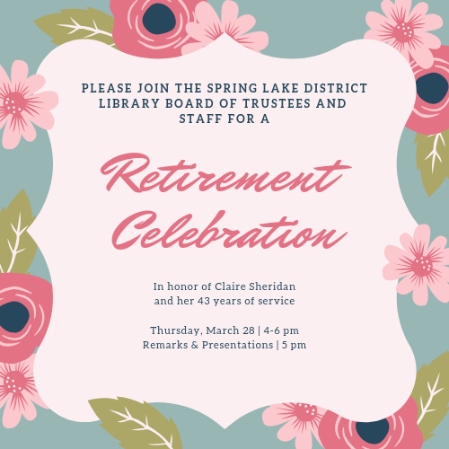 Retirement Celebration for Claire Sheridan