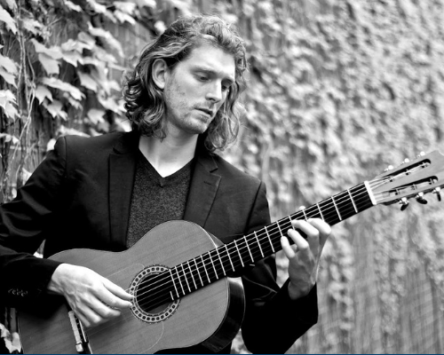 Music by the Fireplace: Classical Guitarist Jeremy Verwys
