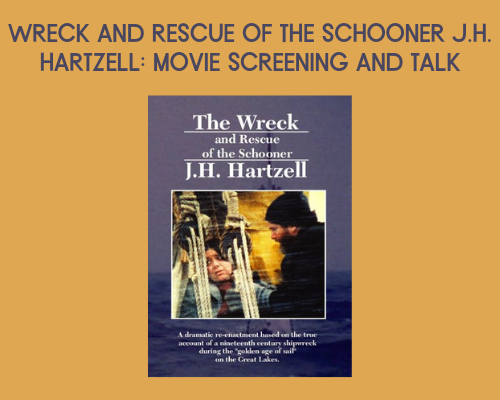 Wreck and Rescue of Schooner J.H. Hartzell