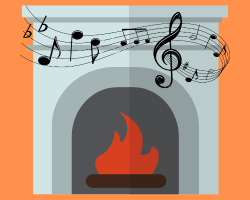 Music by the Fireplace: Classical Guitarist Jeff Dwarhuis
